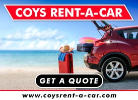 Coys Car Rental banner on Expats in Spain