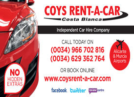 Rent a car in Spain
